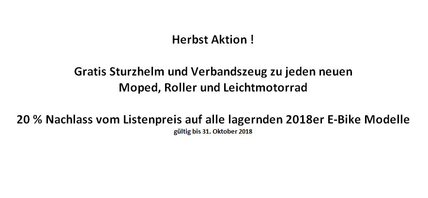 Herbst Aktion 2018